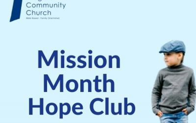 Mission Month – The Hope Club